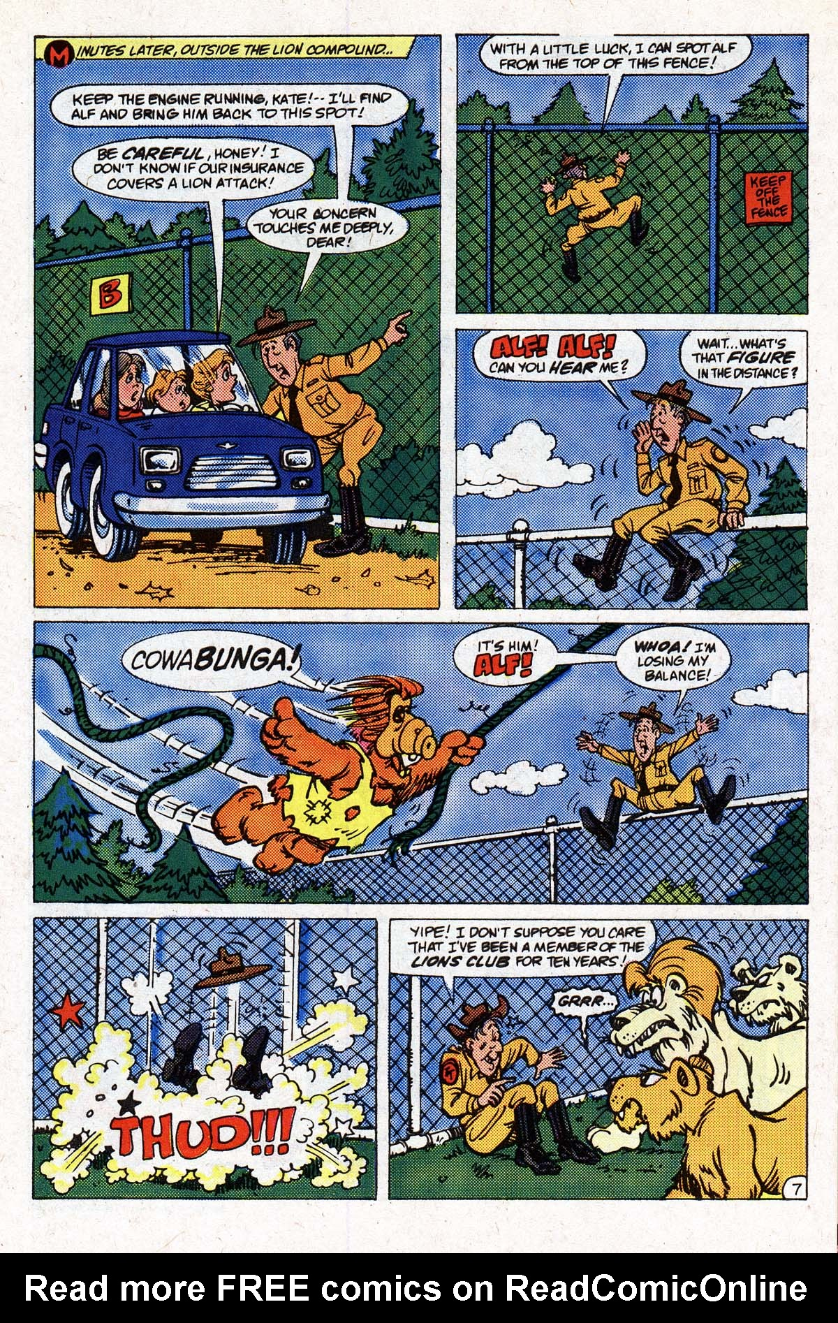 Read online ALF comic -  Issue #2 - 89