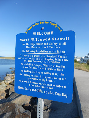 North Wildwood Seawall in New Jersey