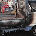 Un herido al incendiarse guagua platanera en estación GLP cercana a lugar de explosión Polyplas