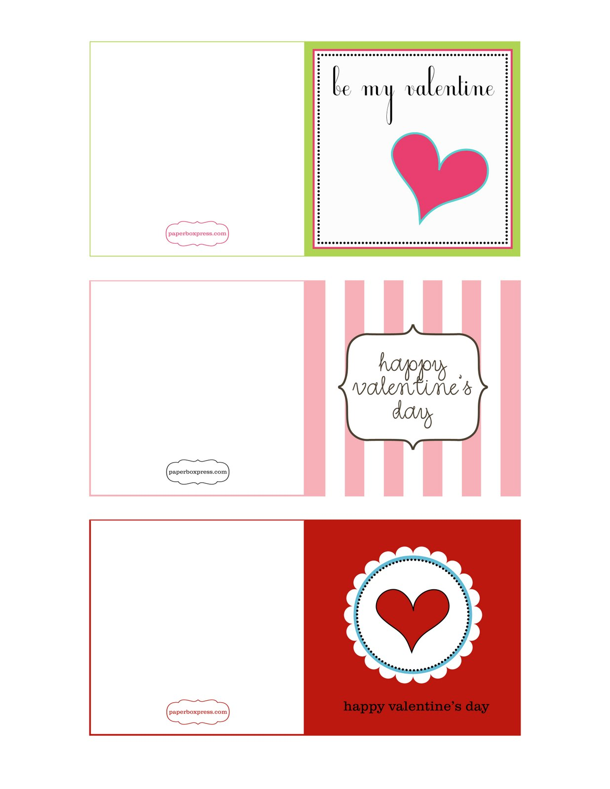 Paperbox Press Parties Free Valentine S Day Printables From Paperbox Press