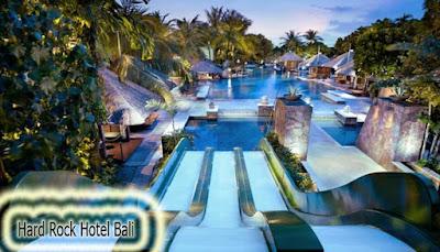 Kolam Renang Hard Rock Hotel Bali