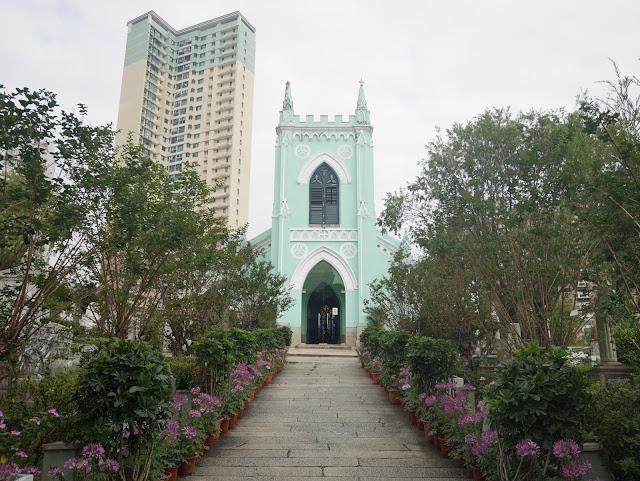 Chapel of St. Michael Archangel, Macau