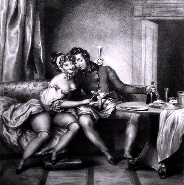 Achille Deveria - senza titolo - pornografia - arte