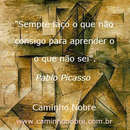 Frase genial de Picasso