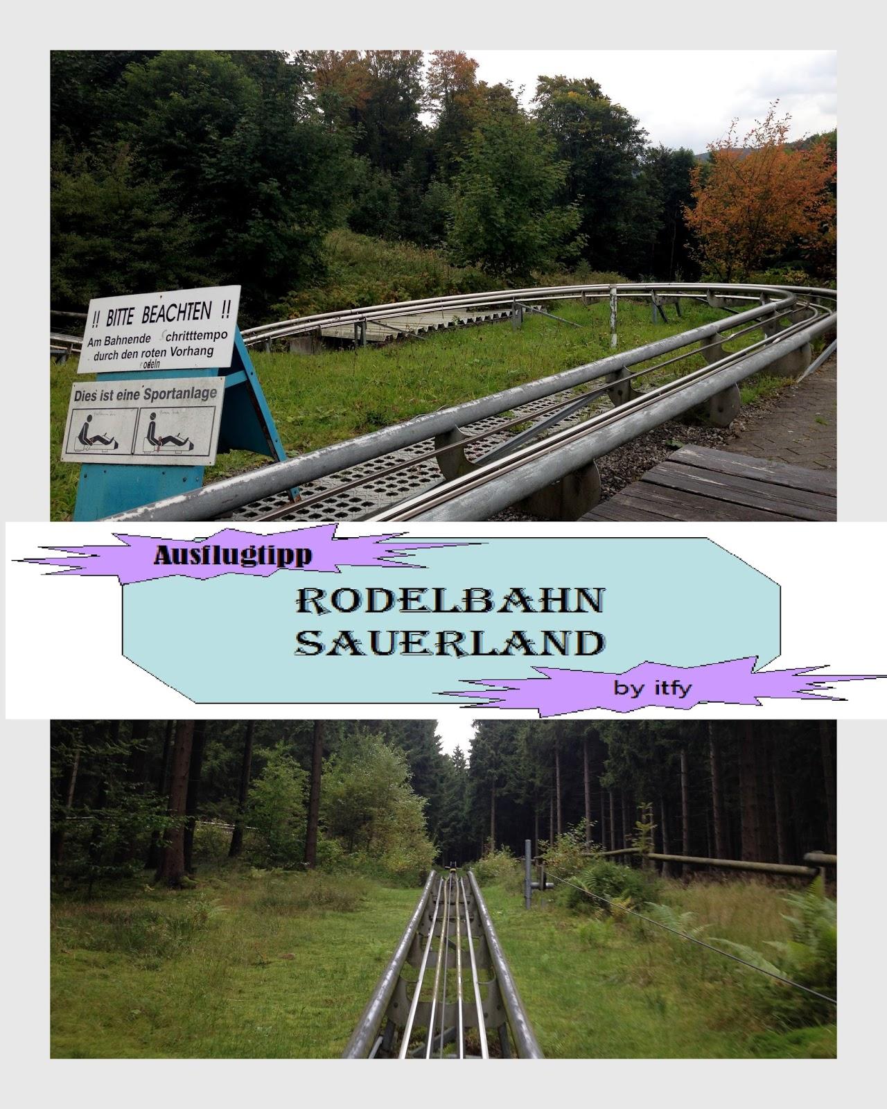 Ausflugstipp Sommerrodelbahn Erlebnisberg Sternrodt Sauerland
