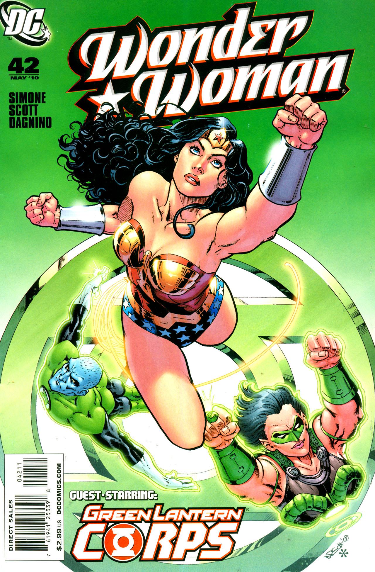 Read online Wonder Woman (2006) comic -  Issue #42 - 1