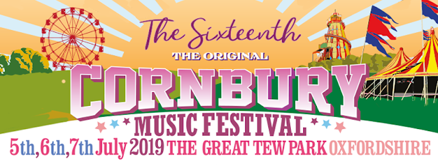 Poster for Cornbury Music festival 2019