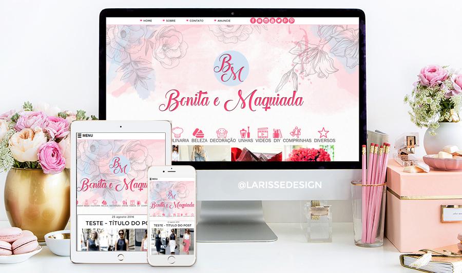 Favoritos Templates para Blogs Femininos - Mais de 100 desenvolvidos | Filha  GR35