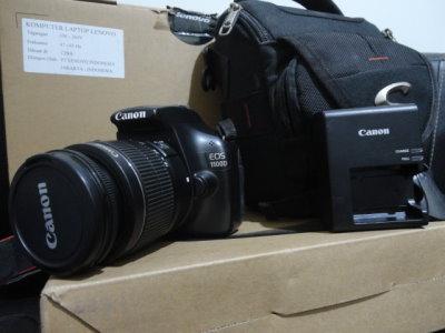 Kamera Dslr Canon Eos 1100d Kit 18 55mm Laptop Bekas Malang
