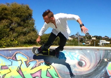 Mark Jansen Skateboarding Adelaide Hallett Cove