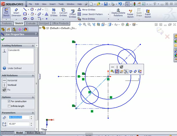 How To Mirror Sketch Entities Solidworks 2012 Solidworks