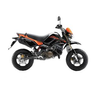 Kawasaki KSR 110cc Orange