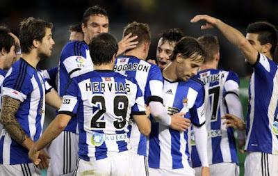 Real Sociedad empata 2 a 2 contra el Eibar