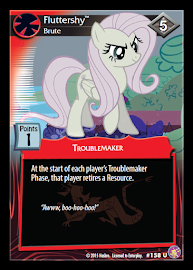 My Little Pony Fluttershy, Brute Absolute Discord CCG Card