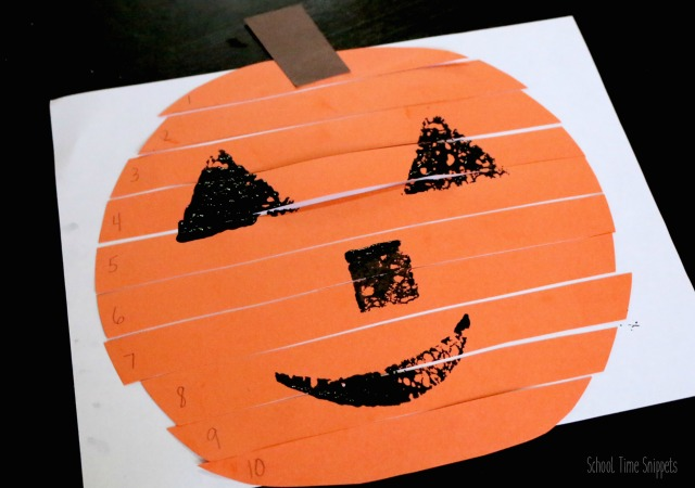 pumpkin activity for preschoolers