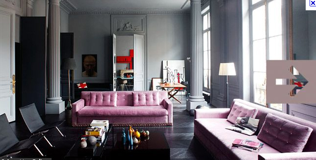 2 Piece Brown Leather Sofa Sitting Duck Sofas Decor Me Happy By Elle Uy: Can Men And Pink Coexist? Totally.
