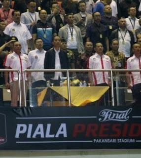 Piala jokowi rapi, Arema terpandai, Ini Kata Jokowi