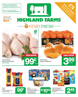 Highland Farms weekly Flyer November 30 - December 6, 2017