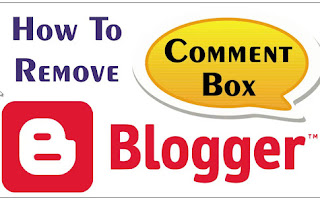 डिफाल्ट कमेन्ट बॉक्स कैसे हटाए ब्लॉग से पूरी जानकारी हिन्दी मे ¦¦ How To Remove Defualt Comment Box in Blogger