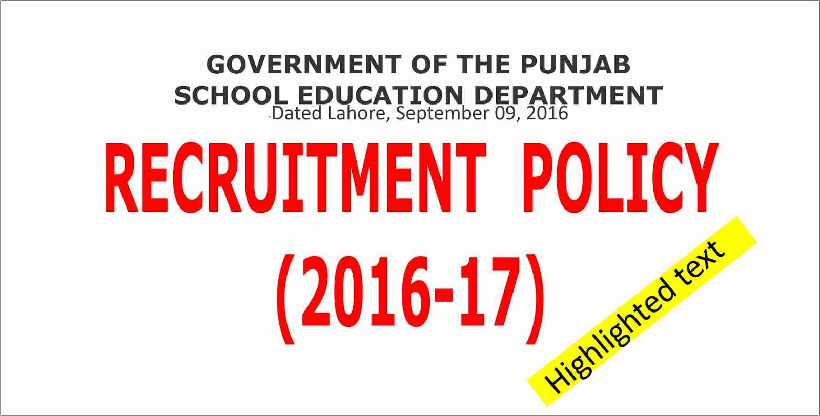 EASY NTS (Update info about Jobs in Pakistan): GOVERNMENT OF