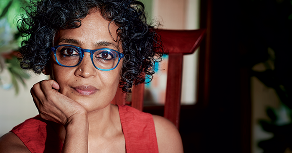 Arundhati Roy, author of The God of Small Things
