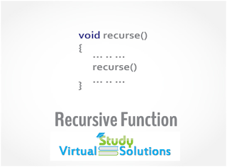 What is Recursive function in c++ Programming