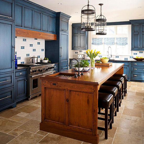 Brown Cabinet Kitchen Ideas: Postcards From The Ridge