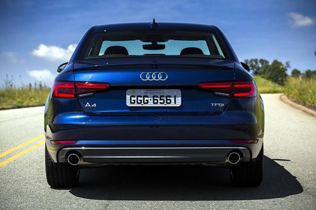 Novo Audi A4 2017 - traseira