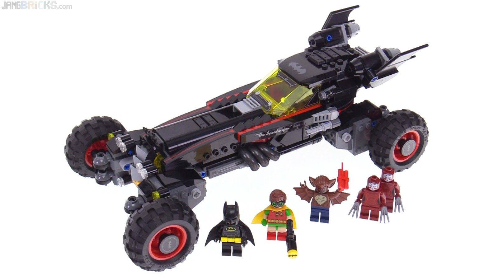 Model LEGO Batman Movie Batmobile Review 70905