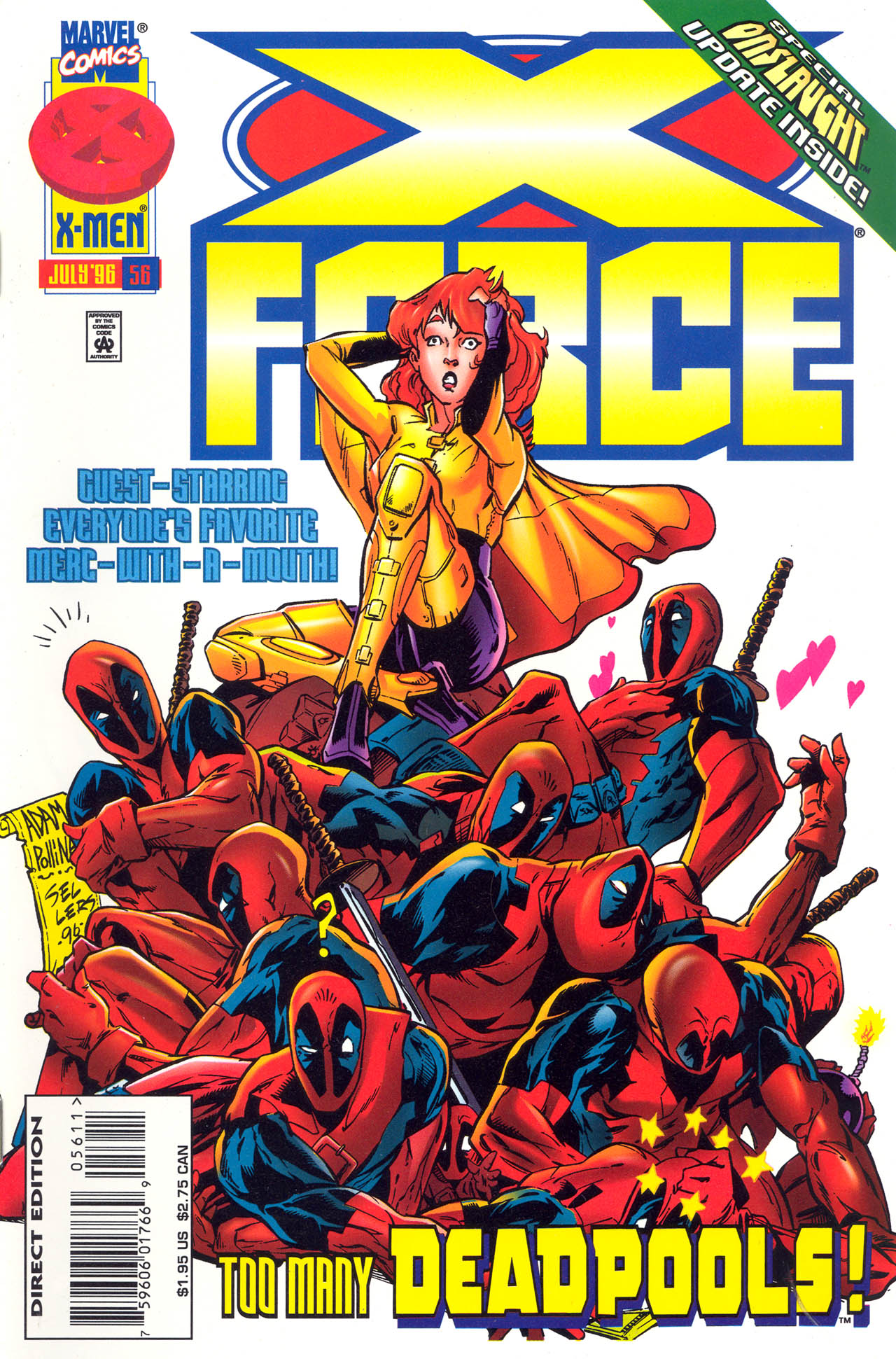 X-Force (1991) 56 Page 1