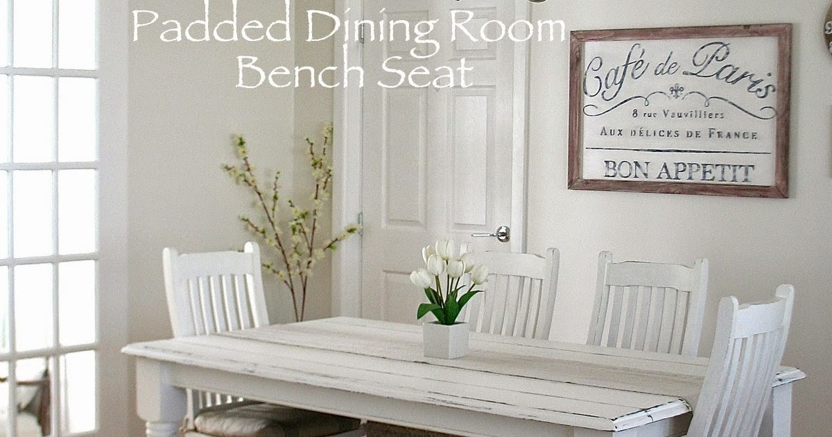 Restyle Relove Padded Dining Room Bench Seat With