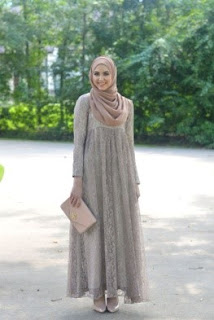 kebaya dress monokrom