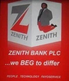 Nigerians make memes of Zenith Bank officials kneeling for Fayose
