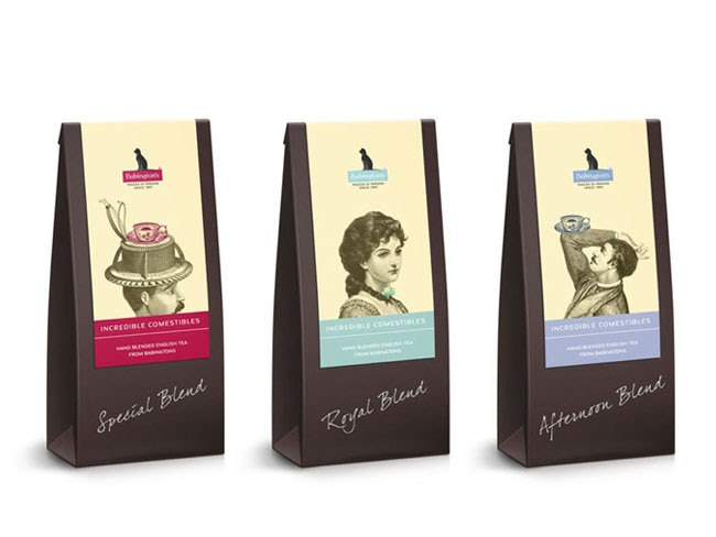 Babingtons English Tea Rooms On Packaging Of The World