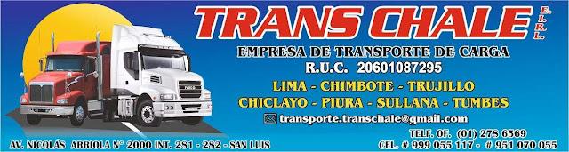 EMPRESA TRANS CHALE E.I.R.L.