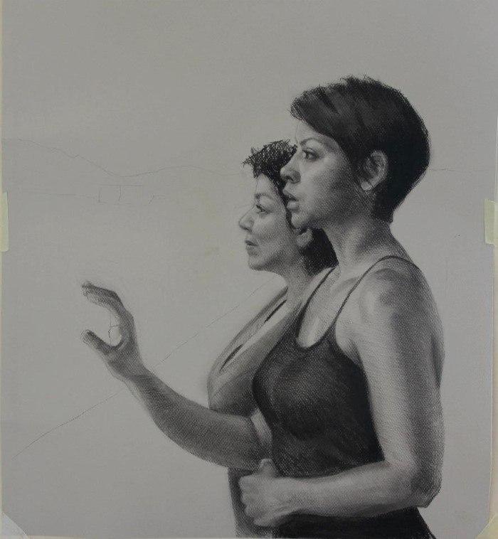 Венесуэльский художник-реалист. Milixa Moron