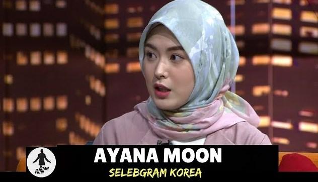 Klarifikasi Ayana Moon Di Hitam Putih, Bukan Eks Girl Band Korea