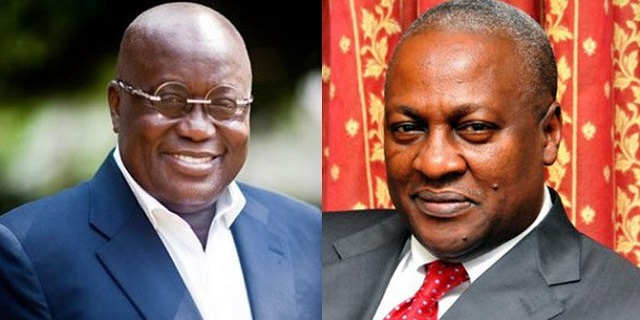 'Is Mahama living in Ghana with us', Akufo-Addo asks