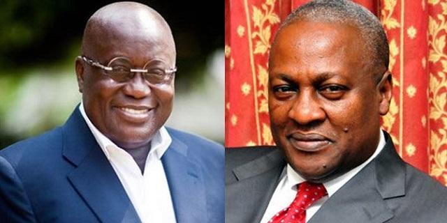 'Is Mahama living in Ghana with us', Akufo-Addo asks