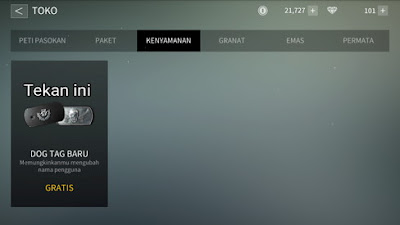 Fungsi Dog Tag Baru di Point Blank: Strike