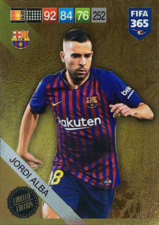 PANINI ADRENALYN XL FIFA 365 2019 UPDATE LIMITED EDITION BROZOVIC LIMITED