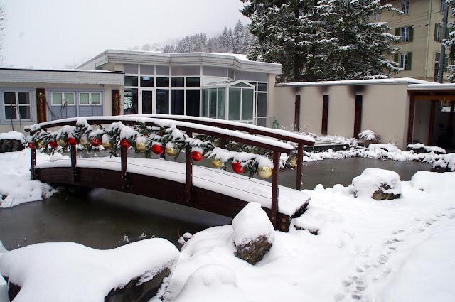 Christmas Hotel Belvedere Switzerland