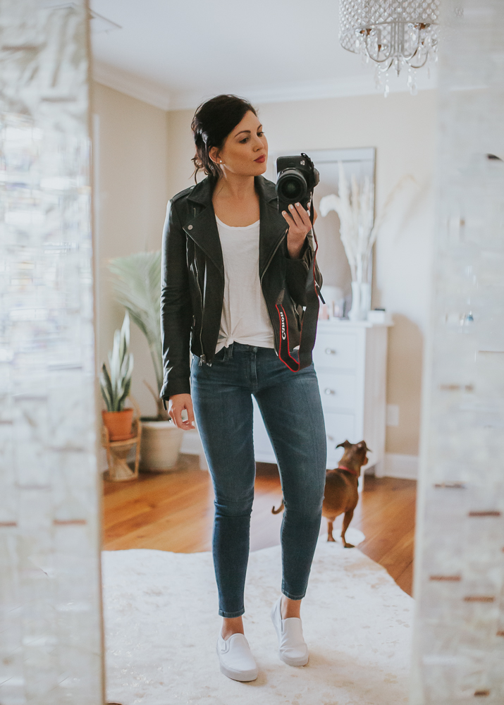 classic outfit, basic outfit, Madewell outfit, vans slip ons, nc blogger, nc photographer, life and messy hair, xo Samantha Brooke