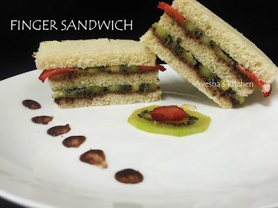 TEA SANDWICH RECIPE SWEET FINGER SANDWICH RECIPE KIDS SNACK
