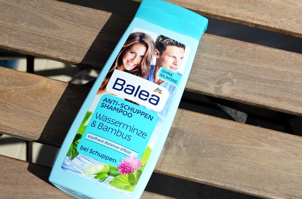 Ulubiony szampon Balea - mięta wodna i bambus