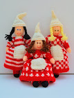 Scandinavian Elves Doll Knitting Pattern