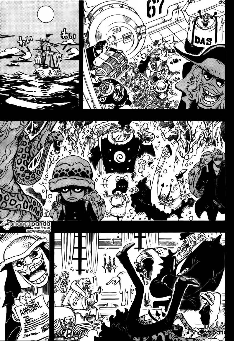 One Piece Ch 763: Human Declaration