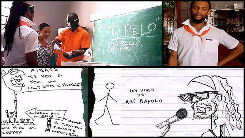 Rolo Rivera - ¨Tu pelo¨ - Videoclip / Dibujo Animado - Dirección: Arí Bayolo. Portal Del Vídeo Clip Cubano