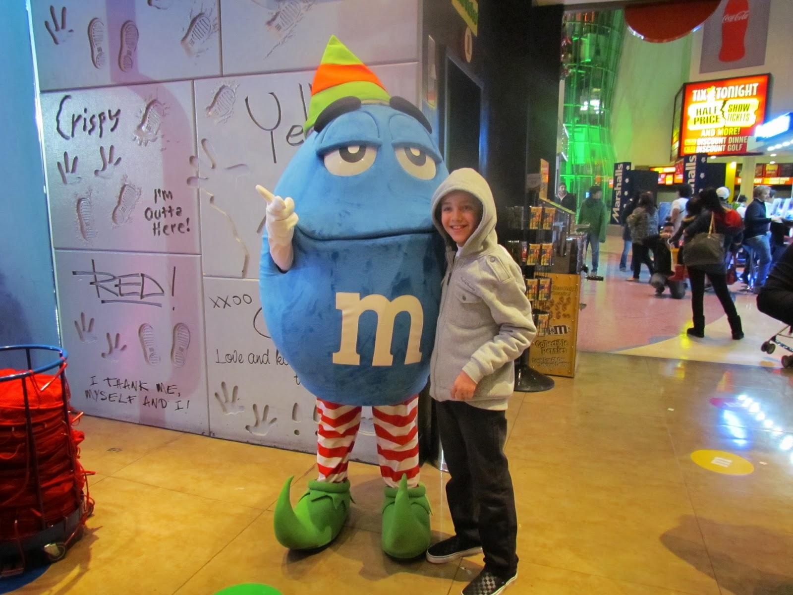 M&M em Las vegas