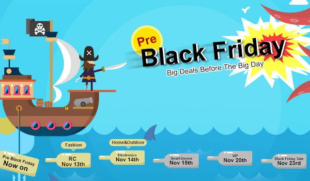استعدادا Black Friday ! موقع banggood يطلق عروض رهيبة